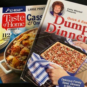 Set of Dinner Cookbooks